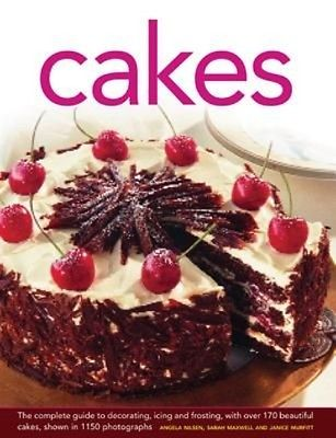 Cakes by Angela Nilsen Hardcover Book (English)