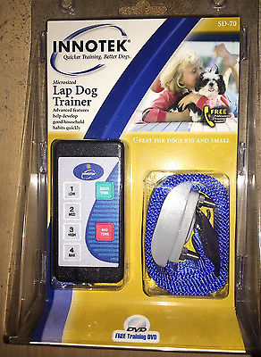 Innotek SD-70 Lap Dog Trainer New In Package Training Aid Big & Small Sealed