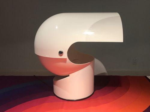 Gae Aulenti for Artemide Mezzo Pileo Lamp Space Age Guzzini Panton  1970's Rare