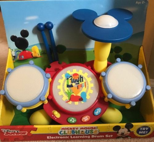 Mickey Mouse Clubhouse Electronic Learning  Drum Set