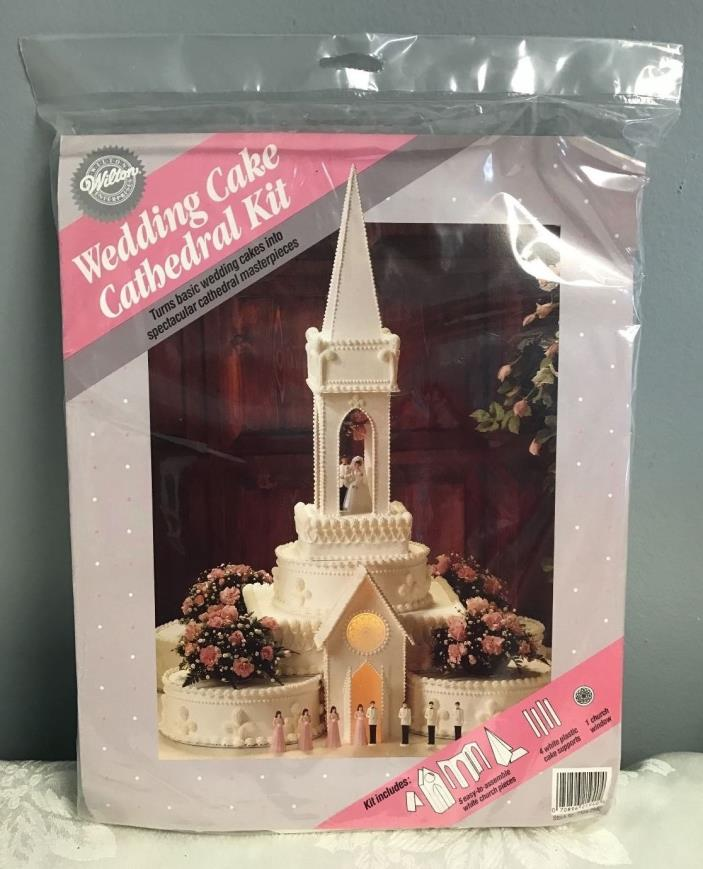 Wilton Cake Topper Church Cathedral Kit Wedding Decoration Discontinued