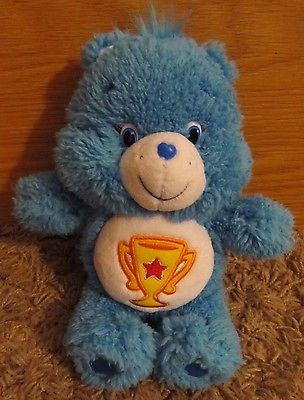 FLUFFY BLUE CARE BEAR 8