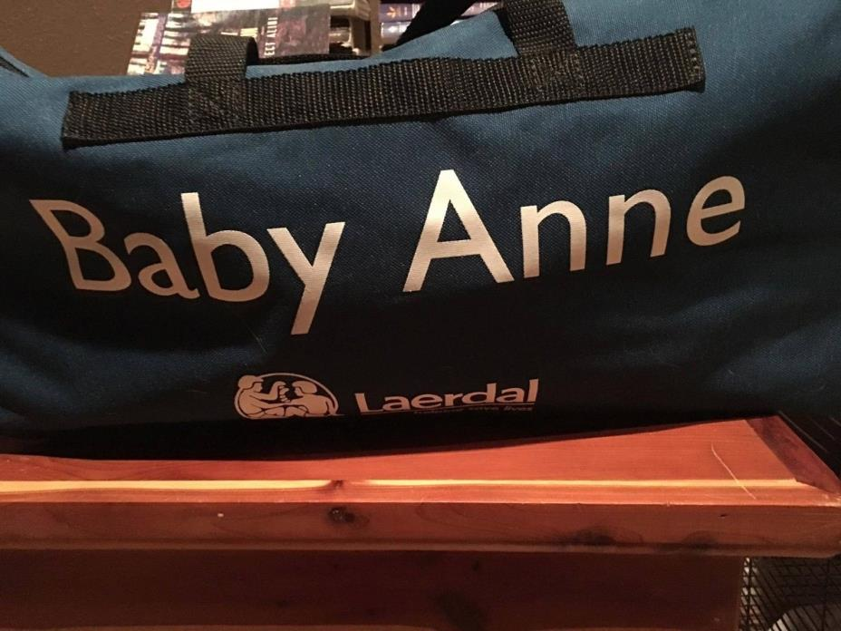Laerdal Baby Anne with soft carry case