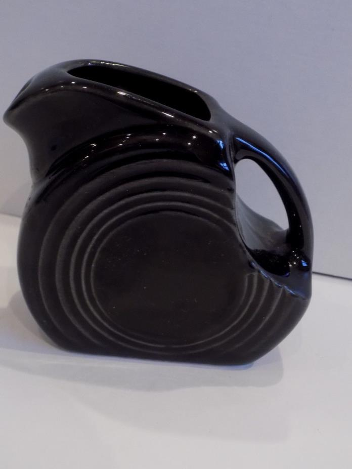 Fiesta Retired Black Mini Disk Pitcher