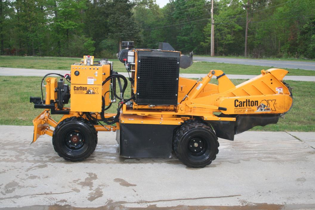 2014 Carlton SP7015 Self Propelled Stump Grinder 4x4