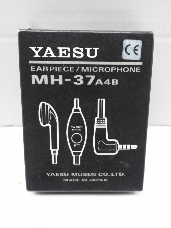 Yaesu MH-37A4B earpiece mic for VX-1R VX-2R VX-3R VX-5R VX-150
