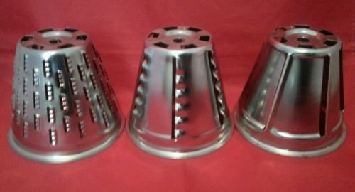 3 - RIVAL Chopper Shredder Replacement Blades Cones Attachments N1 N2 N3 clean!
