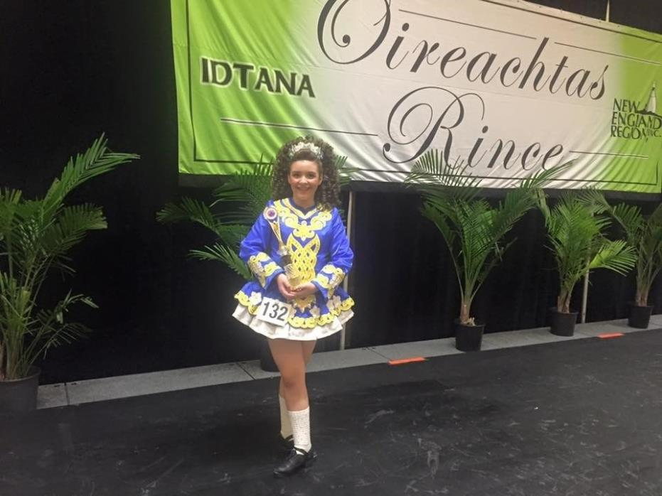 Beautiful Irish dance Solo Dress - Jean Ollson Designs, Excellent Condition.