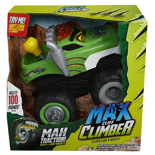 Max Tow Truck Cliff Climber - Green NEW