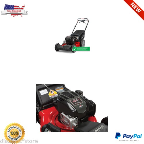 Self Propelled Gas Lawn Mower Snapper 21