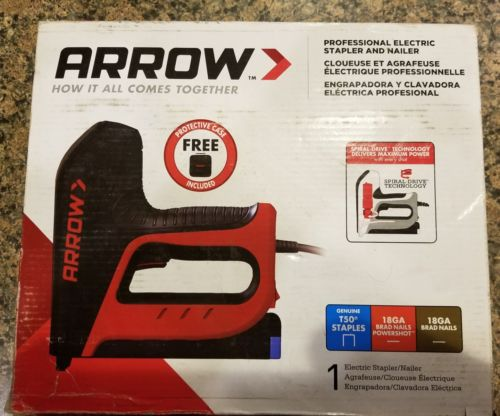Arrow Professional Corded Electric Nailer and Stapler