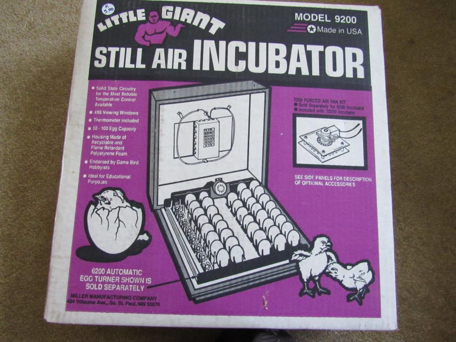 Little Giant Egg Incubator 9200
