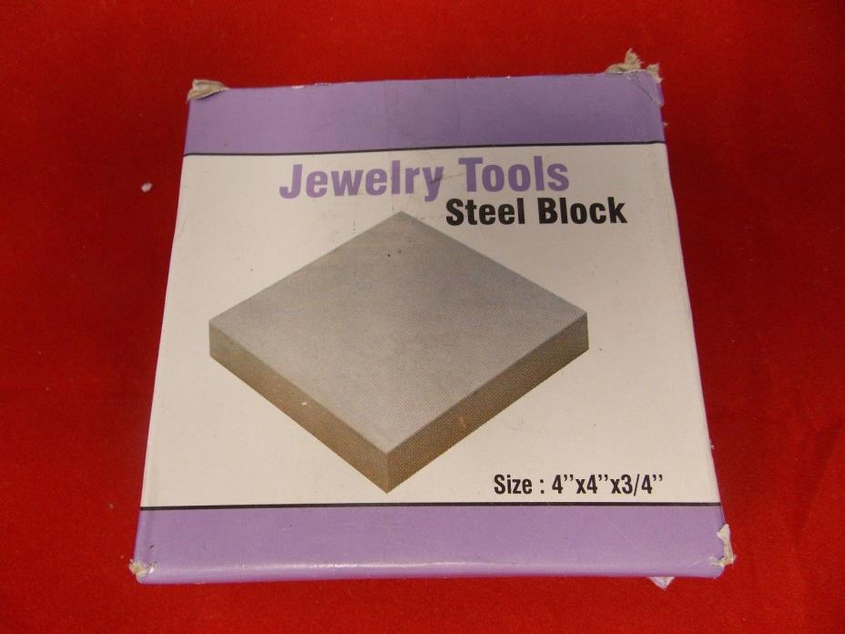 JEWELRY TOOL Solid Steel Bench Block-4