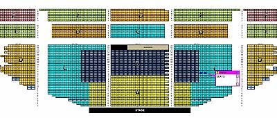 2 Hamilton Tickets Pantages Friday 12/29 2PM Orchestra Left Center (V 307-308)