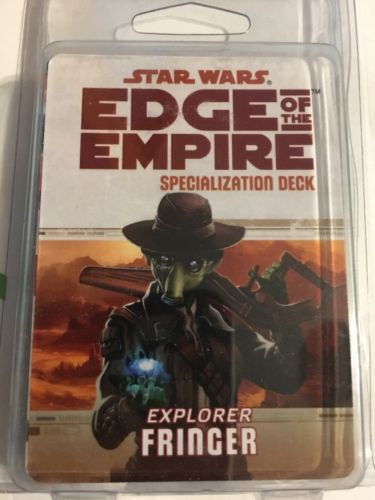 Star Wars: Edge Of The Empire Specialization Deck: Explorer Fringer