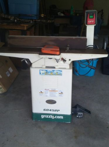 grizzly jointer G0452P POLAR BEAR SERIES