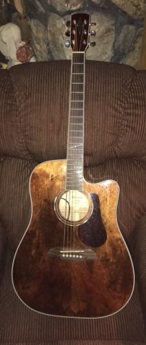 alvarez acoustic electric guitar