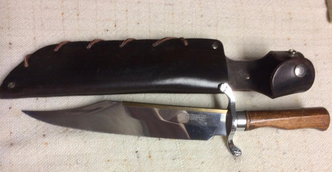 New Carvel Hall Jim Bowie Fighting Knife and Scabbard