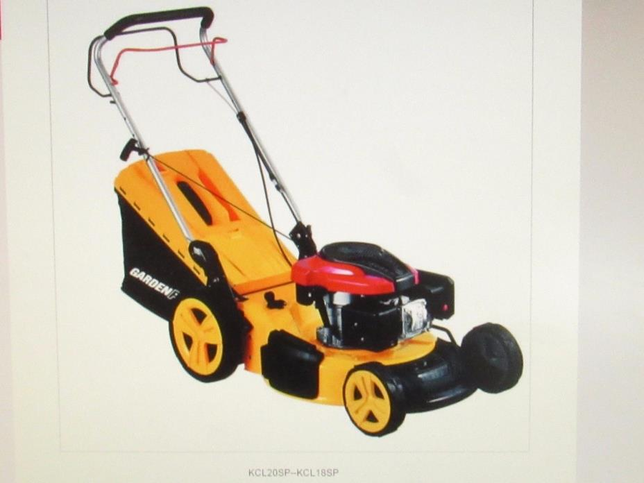 NEW 196-cc power house 20-in pull start Gas Push Lawn Mower LM #4