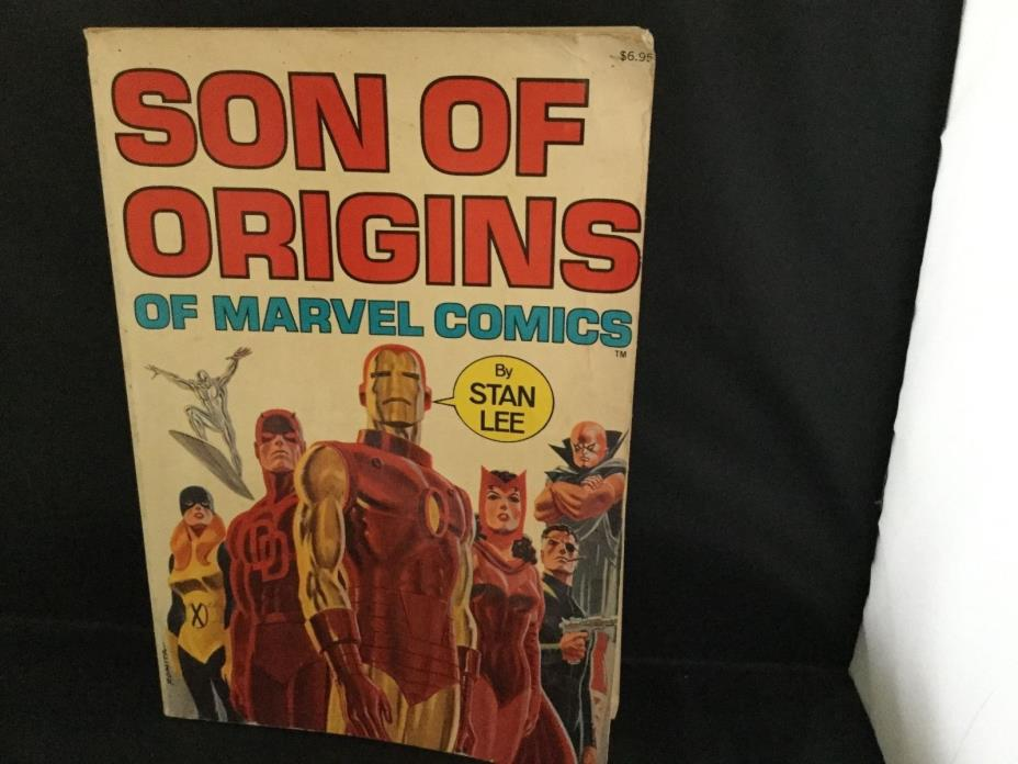 Son Of Origins of Marvel comics by Stan Lee, March 1975