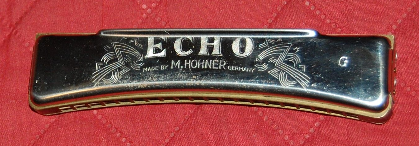 Echo Grand Prix Harmonica By M. Hohner  - Germany