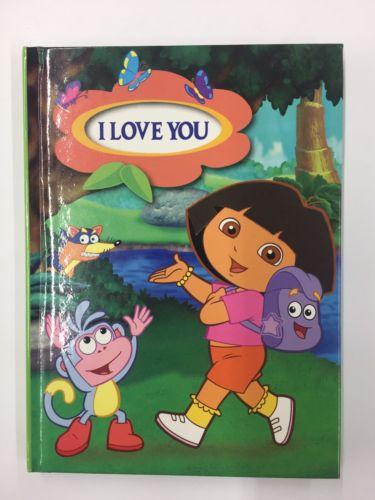 Nickelodeon Dora The Explorer Personalized Stationary Diary (NEW)