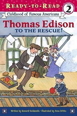 Thomas Edison to the Rescue! by Howard Goldsmith Paperback Book (English)
