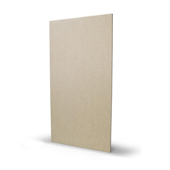 Lot of 10 - Beige Acoustical Fabric Covered Wall Panels, 1