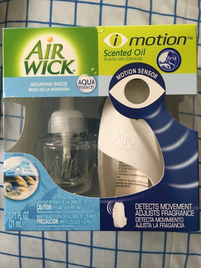 Air Wick i Motion Scented Oil Air  (Mountain Breeze)