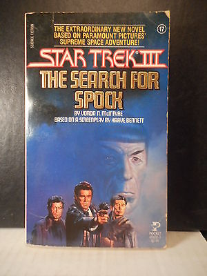 Movie Novel  Star Trek III The Search For Spock  (1984)  428TB.