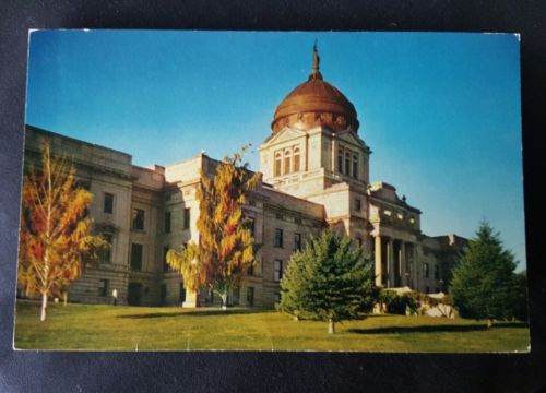 Montana State Capital Building Unused Postcard