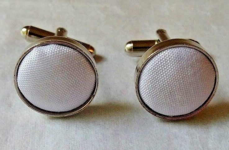 2 Pcs Vintage Stainless Steel Mens Cuff Links Cufflinks                    J18