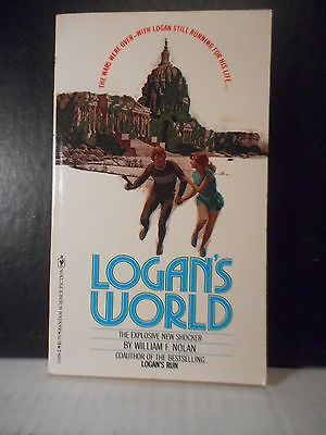 SF, Logan's Run  Logan's World  William F. Nolan  (1977)  428TB.