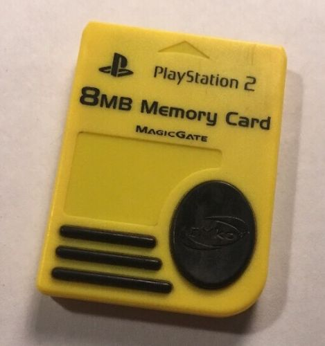 Vintage Preowned PlayStation 2 Memory Card MagicGate NYKO