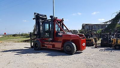 Taylor Big Red Industrial Lift Truck Towmotor TXH-350L 35,000 lbs