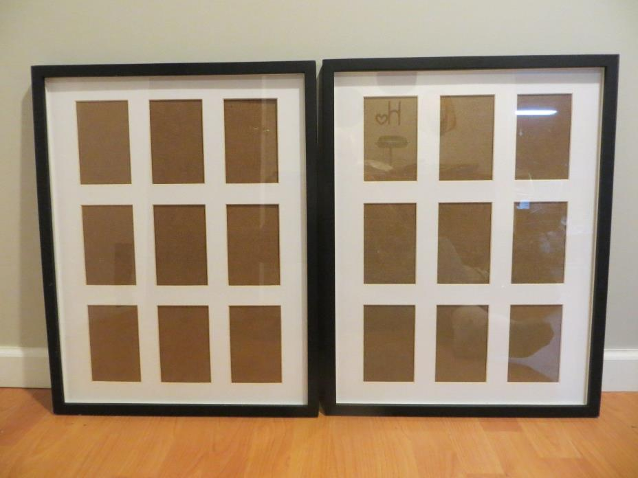 Pottery Barn matted picture frames (2 matching)