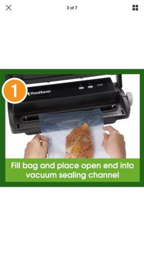 Food Saver Vacuum Sealer V2244