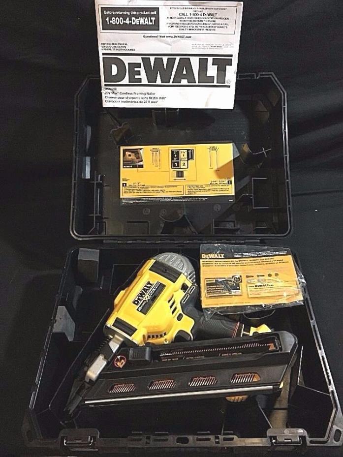 DeWalt DCN692 20v Cordless Framing Nailer ** Tool Only For Parts**