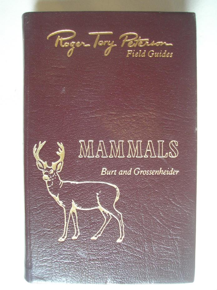 Roger Tory Peterson Field Guide Mammals Easton Press Leatherbound Edition
