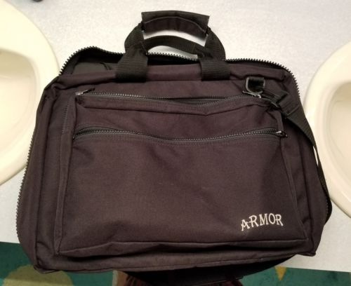Armor Zippered Regulator Bag shoulder strap, pockets