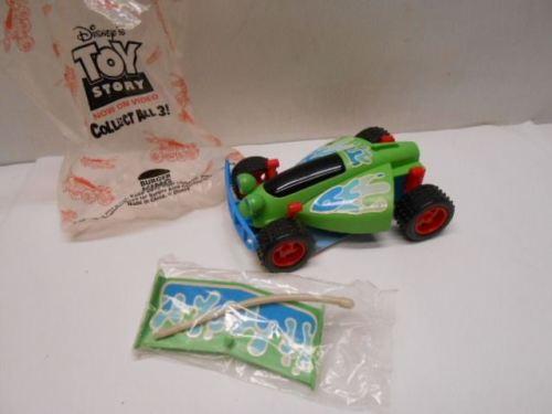 Vintage Toy Story Burger King 1995 Disney RC Car