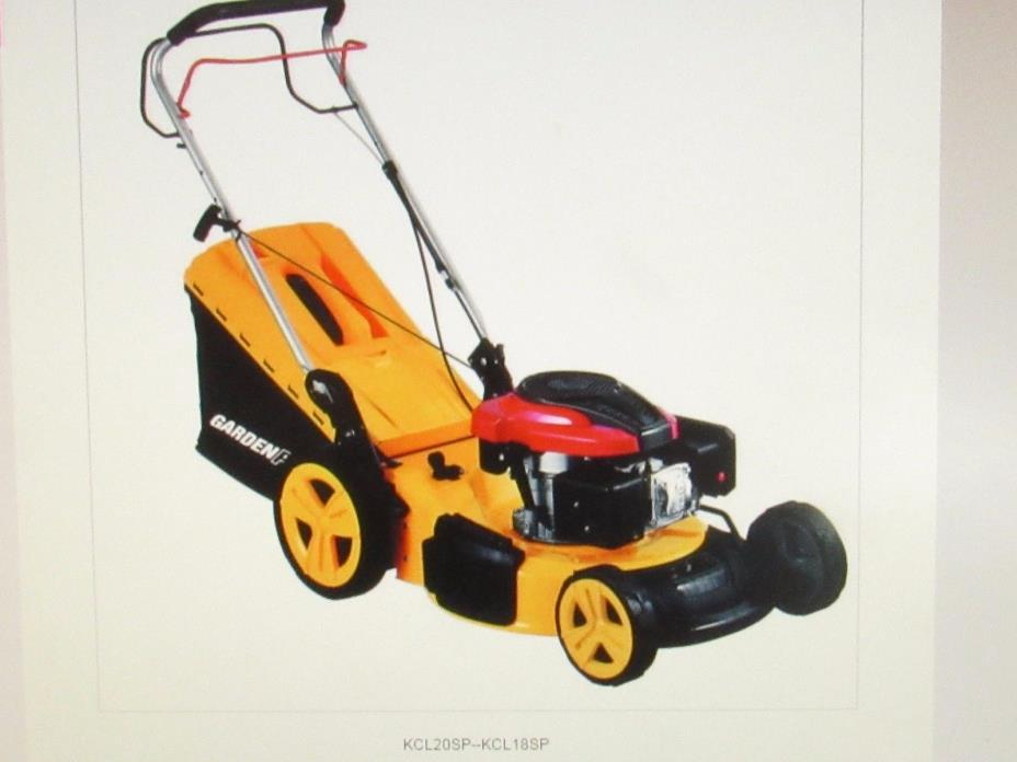 NEW 196-cc power house 20-in pull start Gas Push Lawn Mower LM #3