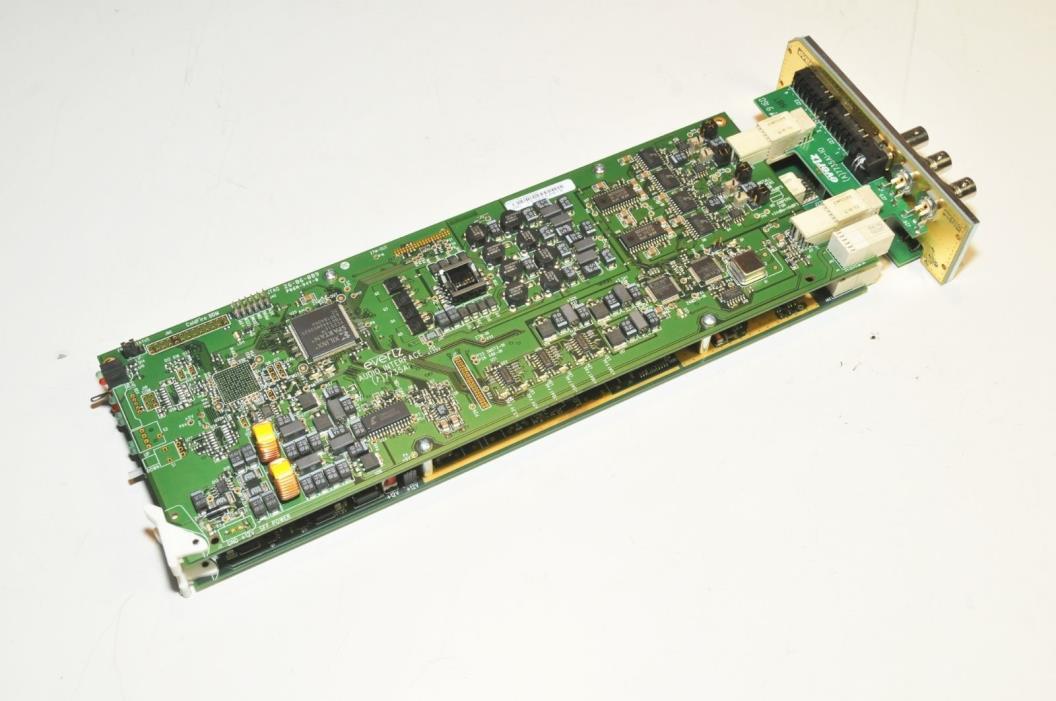 Evertz 7730ADC-A4 Component Analog Video to SDI Converter w/ 4ch Audio Converter