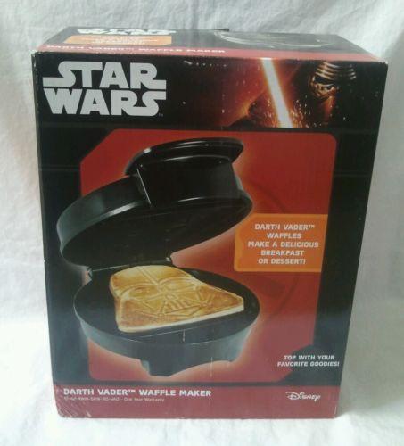 Disney Star Wars Rogue One Darth Vader Waffle Maker