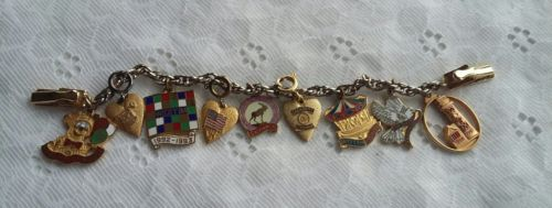 Women of the Moose Charms  on Sweater Guard