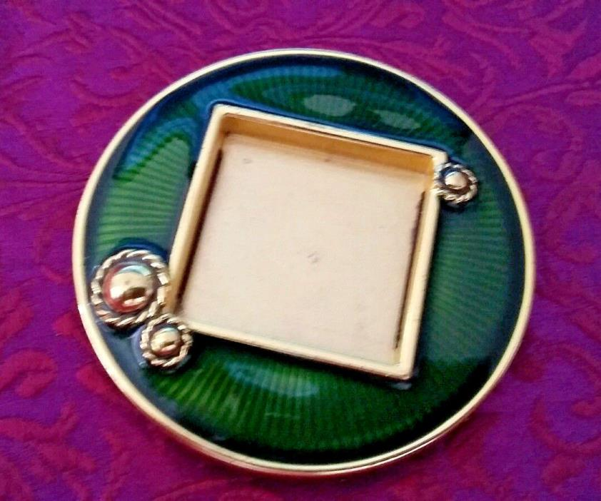 NEIMAN MARCUS JAY STRONGWATER MINIATURE PICTURE FRAME/PIN