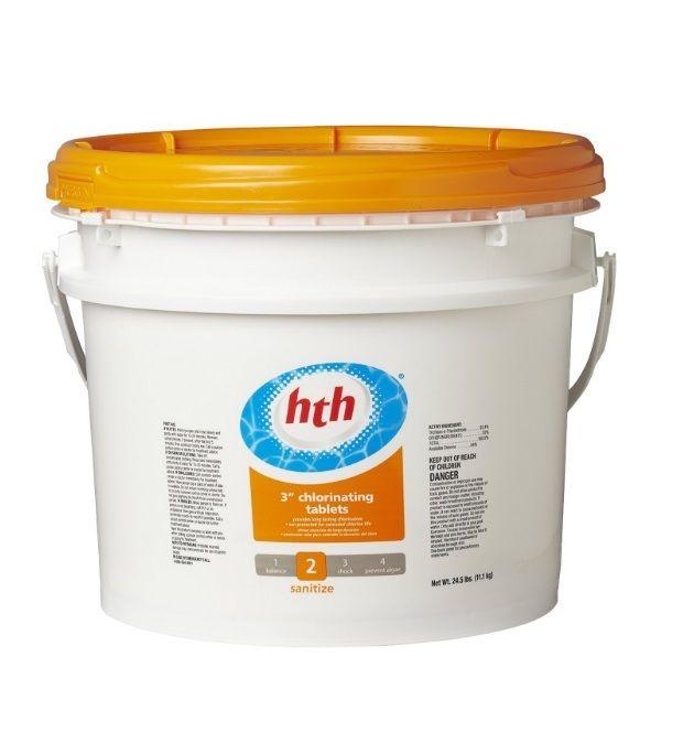 Chlorinating Pool Tablets HTH Swim Hot Tub Chlorine Supplies Chemical 3