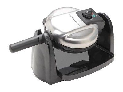 Hamilton Beach Flip Belgian Waffle Maker with Removable Plates 26030