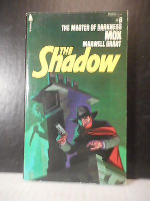 Pulp Character  The Shadow # 8 Mox  Maxwell Grant  (1976)  428TB.