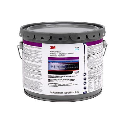 3M Platinum Filler, 01231, 3 Gallon (US) Pail, 1 per case